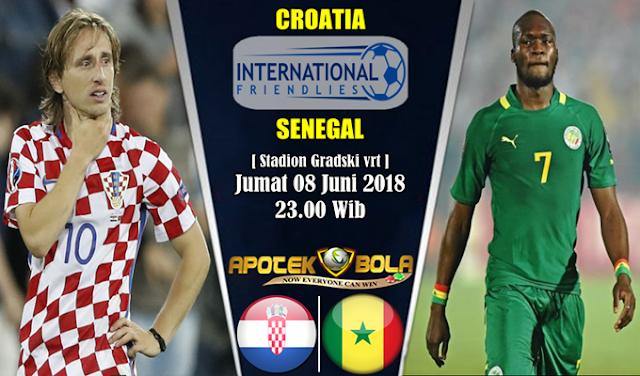 Prediksi Croatia vs Senegal 8 Juni 2018