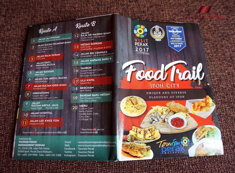 tourism perak malaysia ipoh city food trail guide