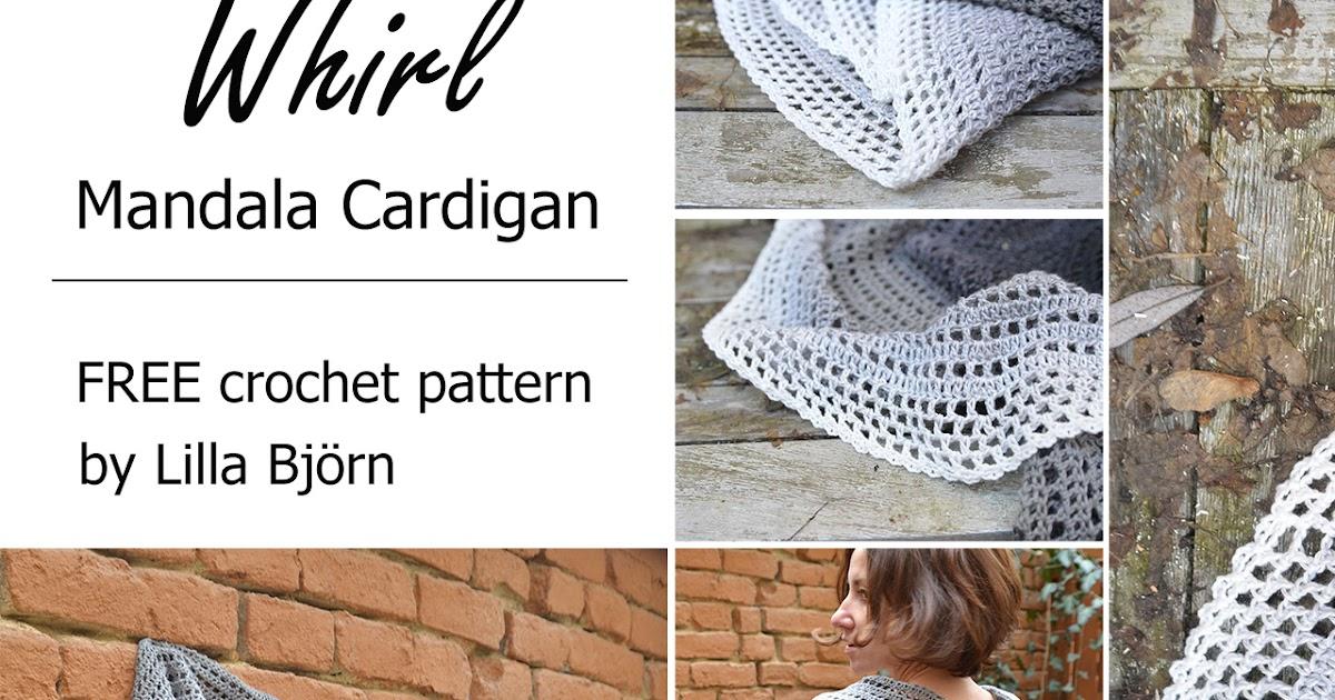 Whirl Mandala Cardigan - FREE crochet pattern | LillaBjörn\'s Crochet ...