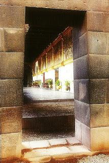 Qorikancha ou Convento de Santo Domingo, Cusco - Recinto del Arco Iris