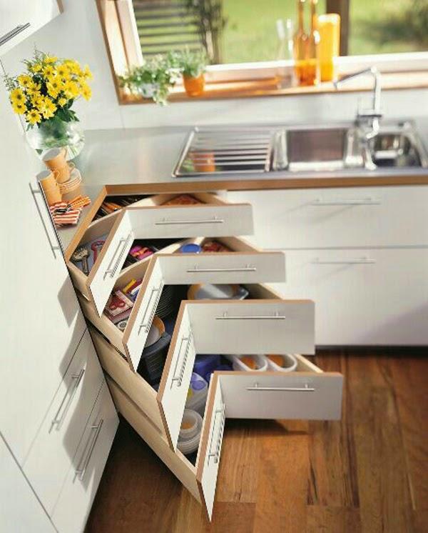Acosta Muebles y Electrónica: Cómo ganar espacio en una cocina pequeña?