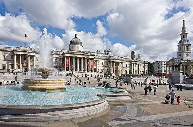 Что посмотреть в Лондоне бесплатно: Трафальгарская площадь