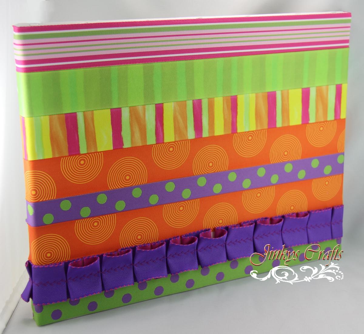 Jinky S Crafts Amp Designs Ribbon Art Canvas