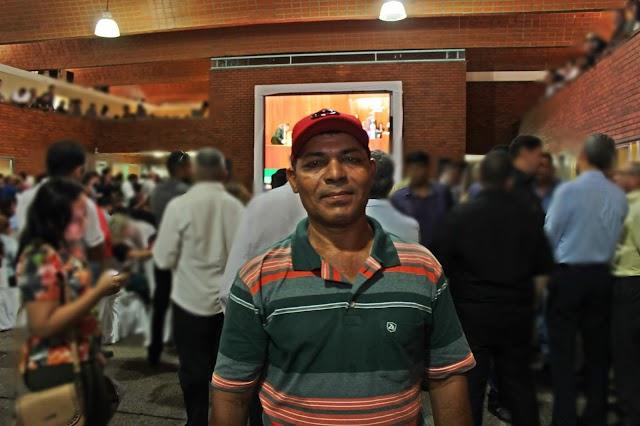 """Léleo participa de posse na ALEPI conversa com Evaldo Barbosa e afirma: """"Estamos conversando para a próxima eleição"""""""