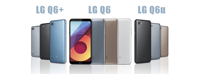 LG chính thức giới thiệu LG Q6, Q6+ và Q6α, phiên bản G6 rút gọn