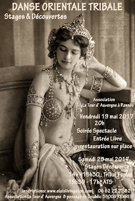Tribal Fusion, stage, atelier, Rennes, Elais livingston, Tour d'Auvergne
