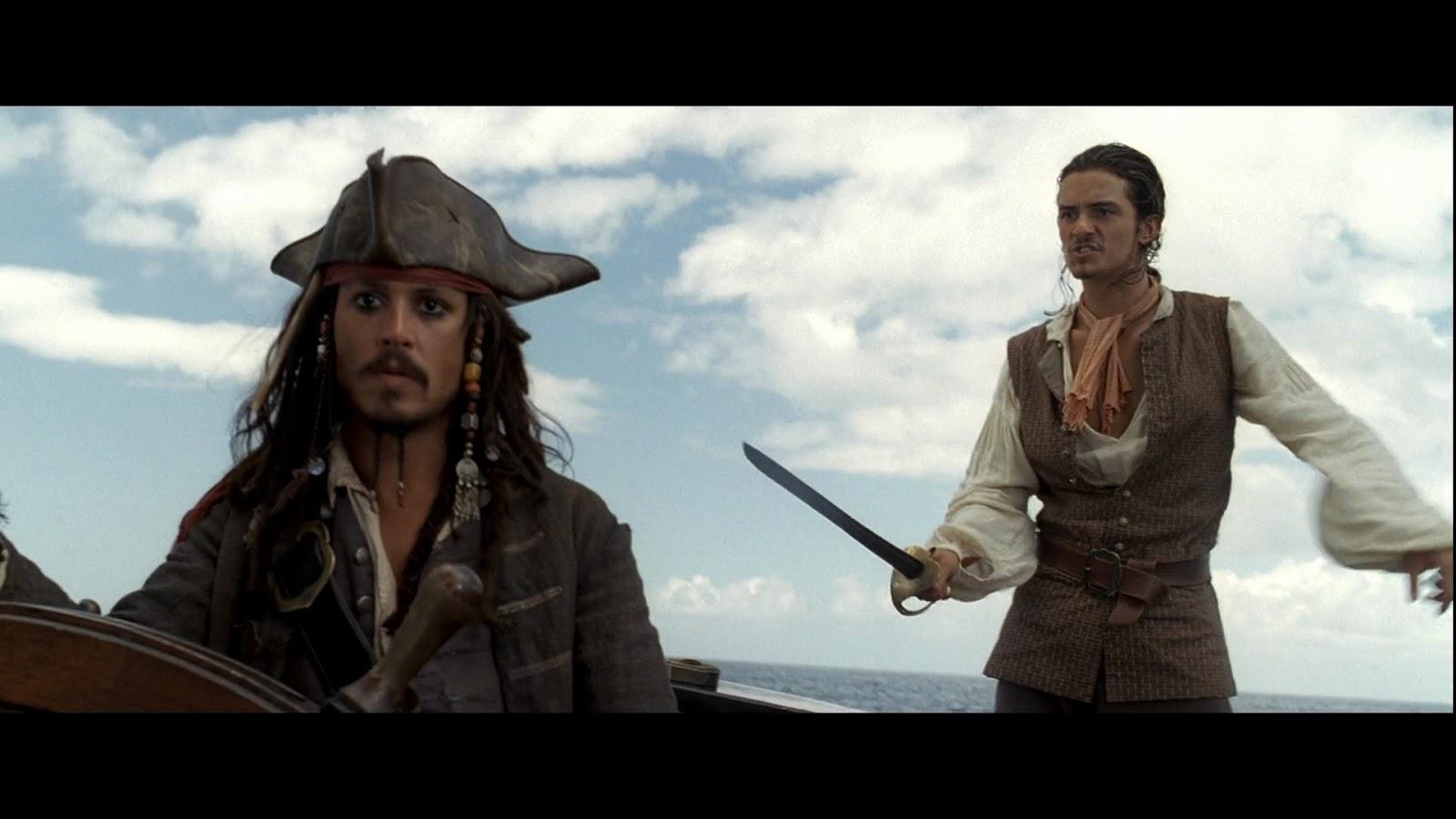 Piratas del Caribe: La Maldición del Perla Negra (2003) BRRip Full HD 1080p Latino - Ingles captura 2