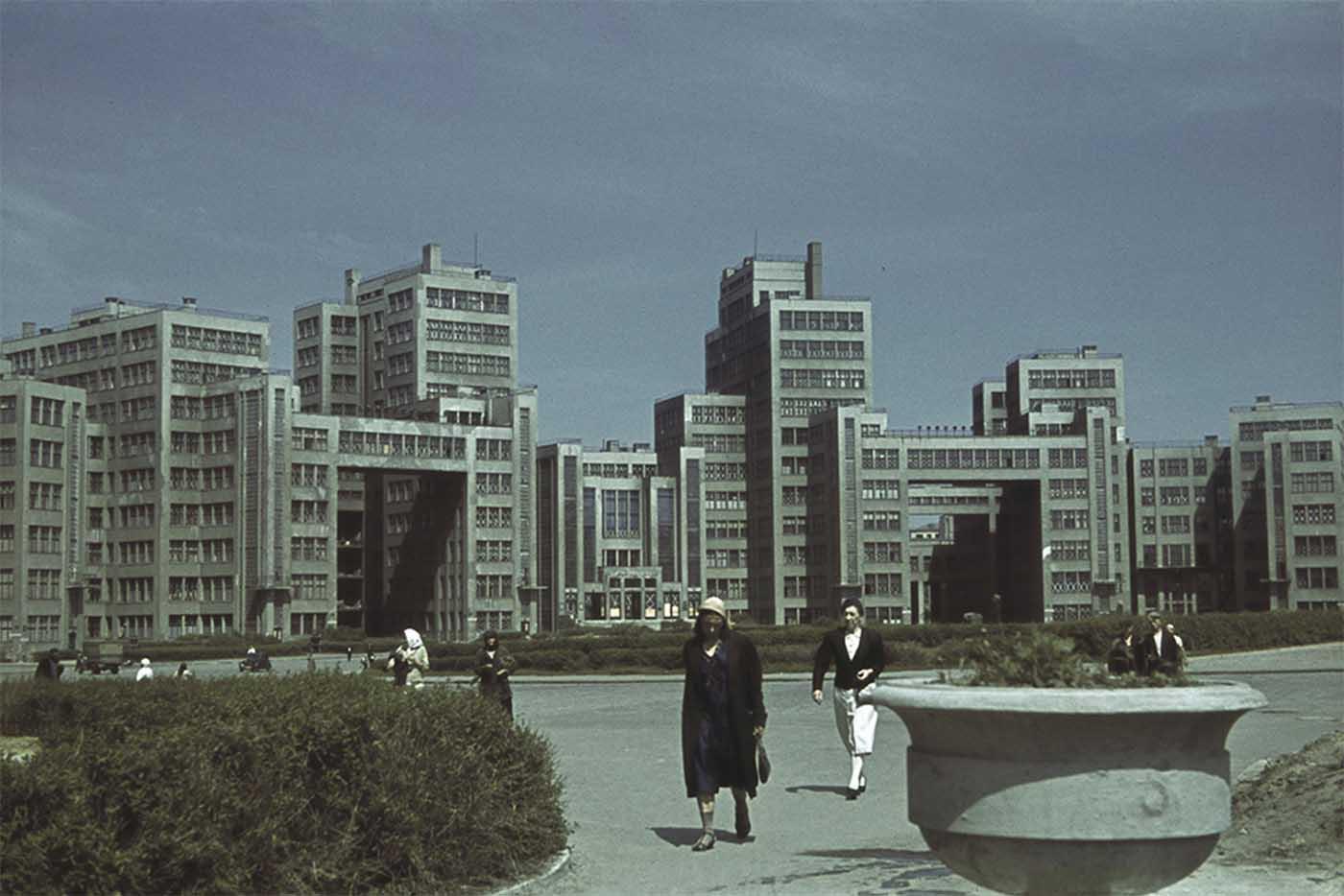 Derzhprom building, Kharkov.