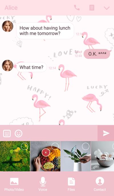 Love! Flamingo