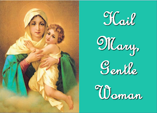 Gentle woman, quiet light, Morning star, so strong and bright. Gentle mother, peaceful dove, Teach us wisdom, teach us love. 2 You were chosen by the Father, You were chosen for the Son, You were chosen from all women, And for woman, shining one. 3 Blessed are you among women. Blest in turn, all women too. Blessed they with peaceful spirits. Blessed they with gentle hearts
