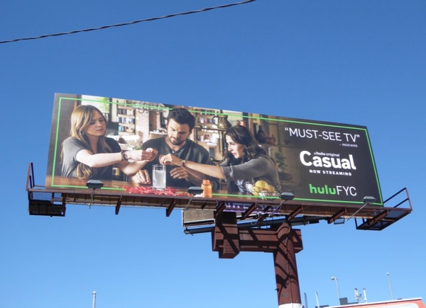 Casual season 2 Emmy FYC billboard