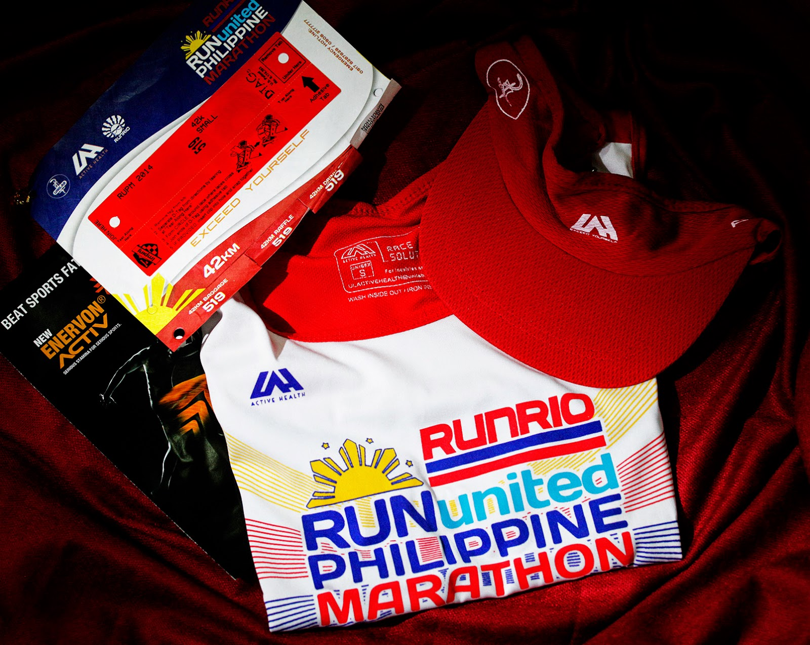 Run United Philippine Marathon 2014 Race Kit