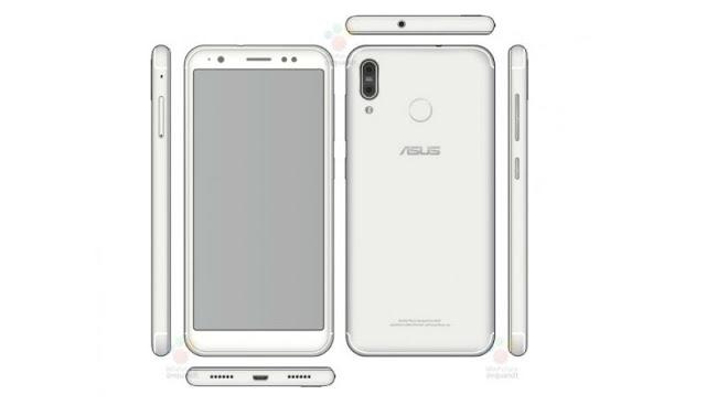 Asus ZenFone 5 Model With 18:9 Display, Dual Rear Cameras in Renders