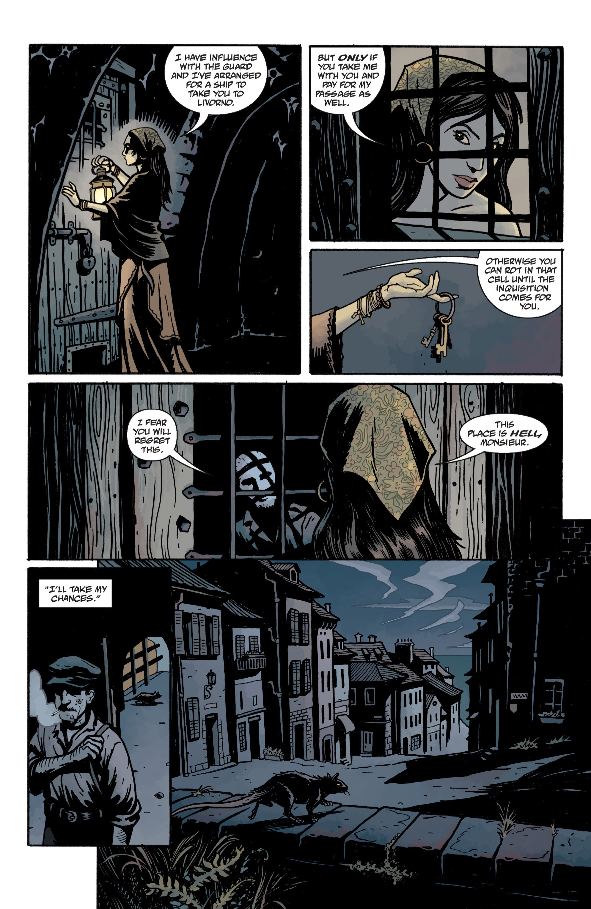 Read online Baltimore: The Plague Ships comic -  Issue # TPB - 32