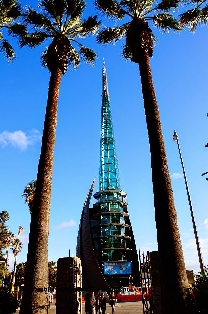 The Swan Bells or the Bell Tower, Perth, WA, Australia