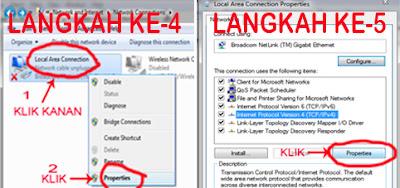 cara seting IP Address