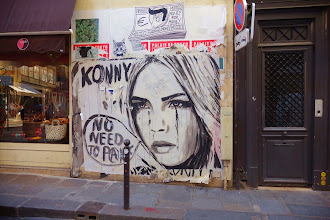 Sunday Street Art : Konny - rue de Seine - Paris 6