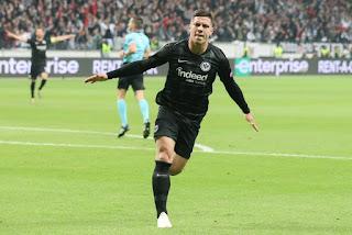 Real Madrid 'complete Signing Of Eintracht Frankfurt Striker Luka Jovic In £52.4million Deal'