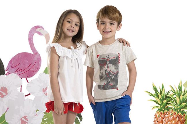 Shorts y bermudas para niños y niñas verano 2018.