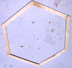 Trick Membentuk Formasi hexagon