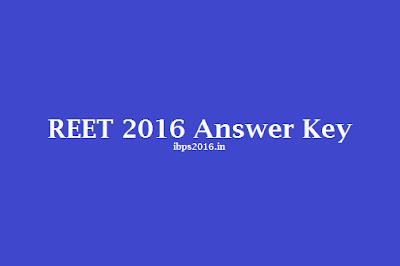 REET 2016 Answer Key