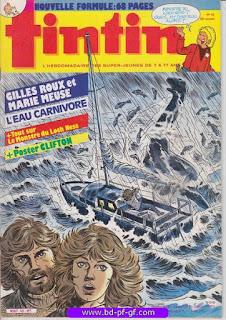 Tintin-numéro 42, année 38, 1983, Clifton et Poster