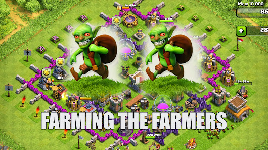 Kumpulan Formasi Farming Terbaik Clash Of Clans TH 1-10 | Desain Base Clash Of Clans