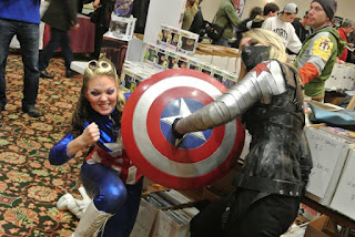 Jenna Say What - Captain America
