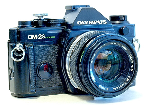 Olympus OM-2S, View, Left Front