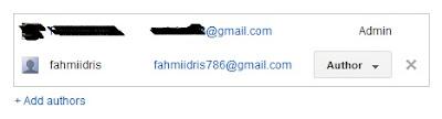 Cara Memindahkan Blogger ke Gmail Lain