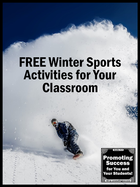 winter olympics ideas for your classroom activities