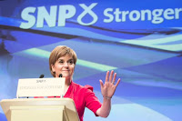 Nicola Sturgeon, First Minister of Scotland and SNP leader