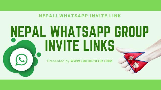 Active Nepal WhatsApp Group Links - Nepali Girls WhatsApp Group