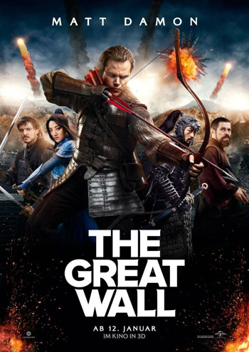 The Great Wall 2016 English