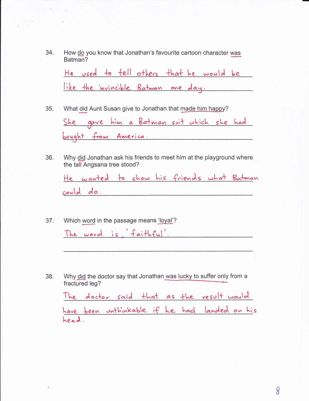 Rivbe4 Answers To The English Unit 12 Supplementary Worksheet