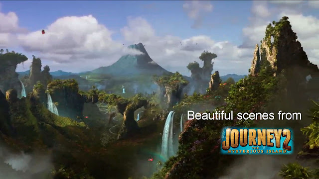 Beautiful scenes from Journey 2