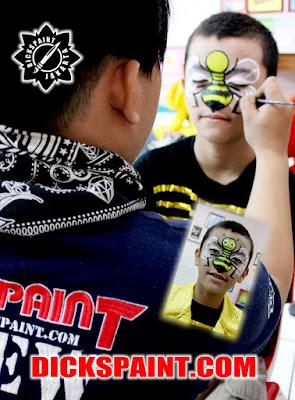 Face Painting Bee Kids Jakarta