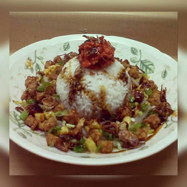 Resep nasi lengko ala rumah makan ciwidey