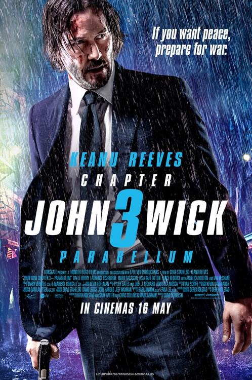 Review Filem John Wick: Chapter 3 - Parabellum
