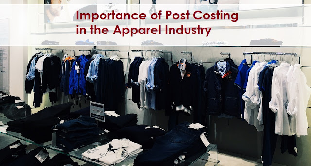 post shipment garment costing