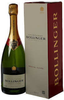 Special Offer wine: Bollinger Special Cuvee Champagne NV 75 cl Gift Box £30, Free PP