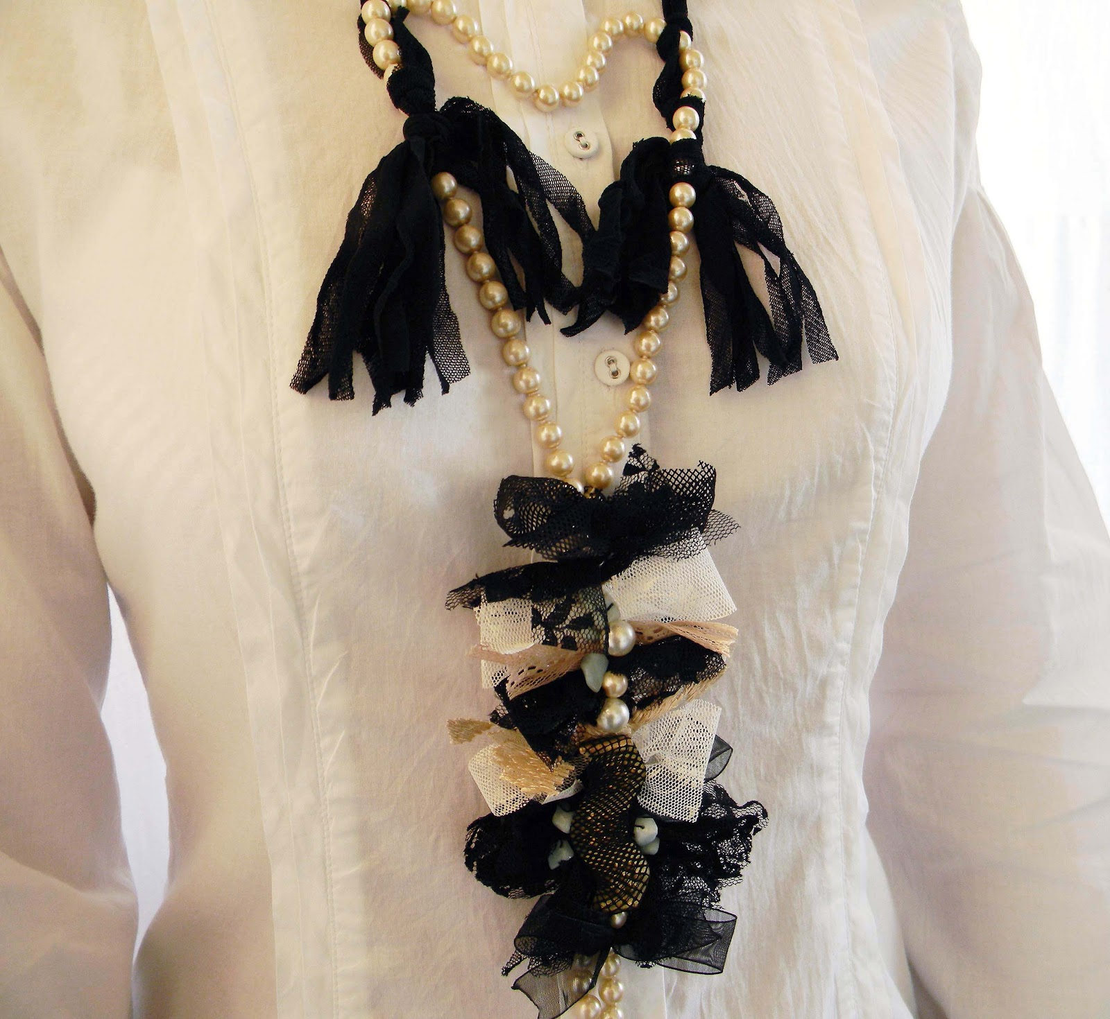 Vintage Style Statement Necklace