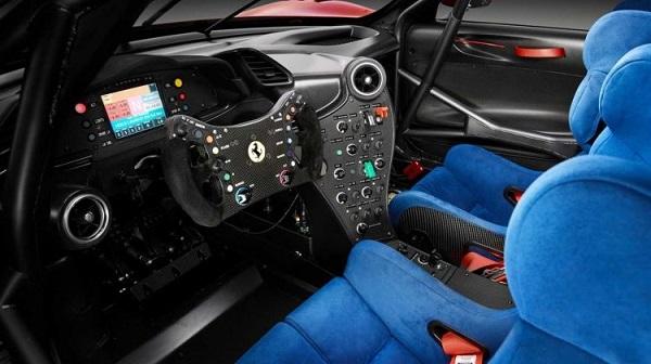 Interior Ferrari P80/C