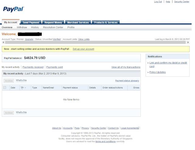 Paypal money Adder Download Rar