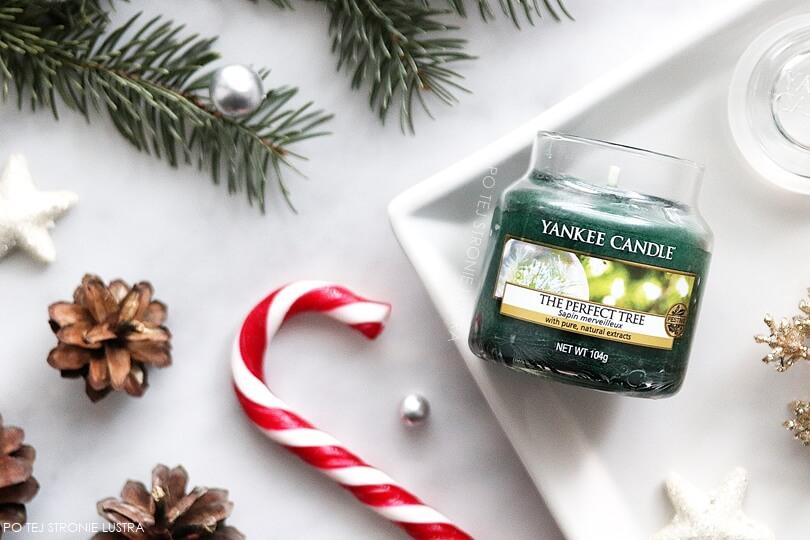 mała świeca zapachowa yankee candle the perfect tree