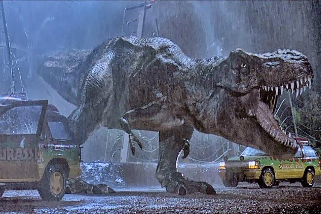 Jurassic Park T Rex Roar UNCLE EDDIE'...