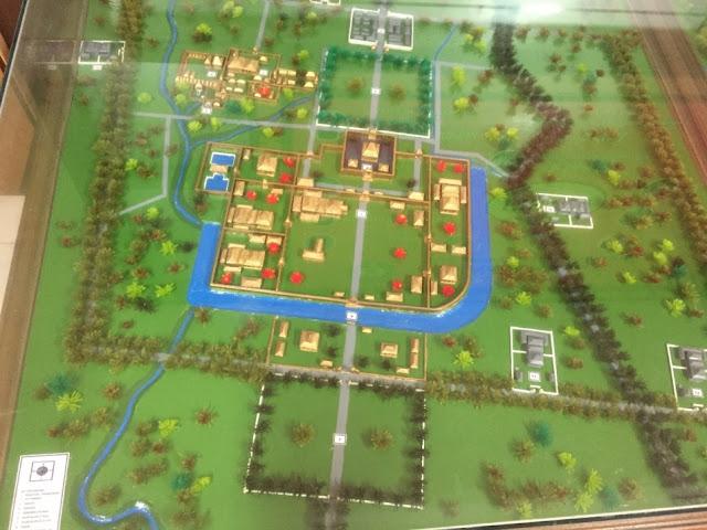 Peta Kraton Mataram Kotagede