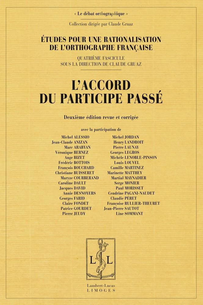 Accordo participio passato francese accord participe passé