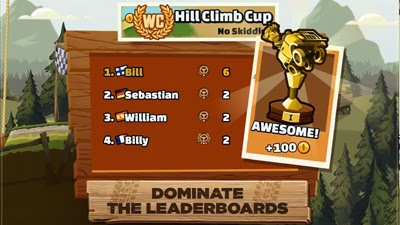 Hill Climb Racing 2: Leagues and Cups
