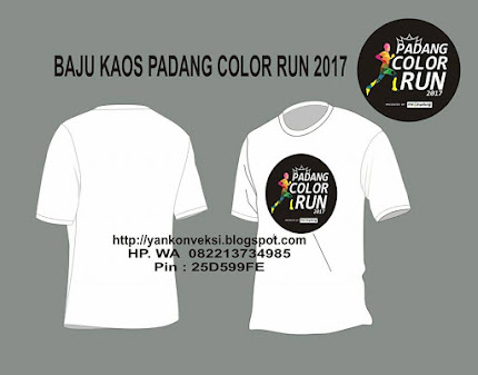 KAOS PADANG COLOR RUN
